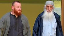 Ibrahim Anderson, 38, with Shah Jahan Kahn, 63