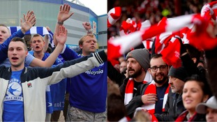 Police to City v Cardiff fans 'have an enjoyable match'