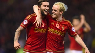 Williams (right) has been on loan at Nottingham Forest this season.