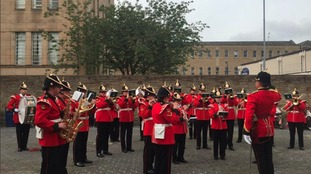 The Band of the Yorkshire Regiment