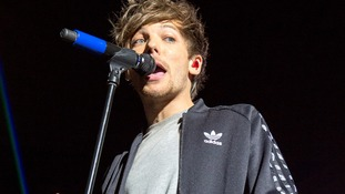 It was first revealed that Louis was becoming a father in July.