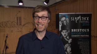 Stephen Merchant is in Bristol for the Slapstick Festival