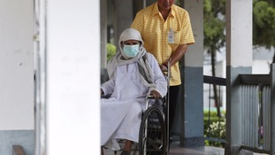 A 75-year-old businessman from Oman was diagnosed with MERS in July, Thailand's first case of the virus.