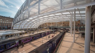 Manchester's Victoria Railway Station reopened in October following a £44m upgrade.