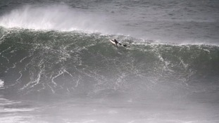Kamron Matthews, from Newquay has been surfing since he was a young child