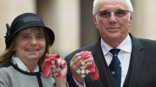 Margaret Aspinall and Trevor Hicks both awarded CBE