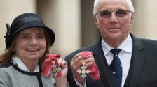 Margaret Aspinall and Trevor Hicks both awarded CBE