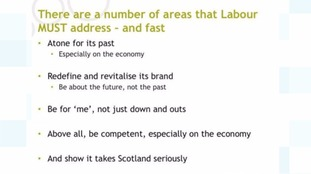 The areas voters want Labour to address