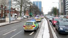 Birmingham is a hotspot for dangerous driving