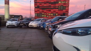 Nottingham gets £6.1m funding in electric car campaign