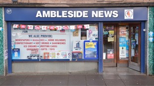 The newsagents where the tickets was reportedly purchased