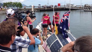 Rower's message to Cornwall: 'We're not just country bumpkins'