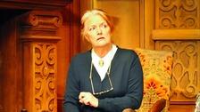 Louise Jameson as Mrs Boyle.