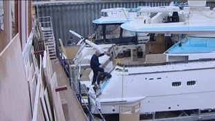 Nearly 400 jobs were lost when Fairline boats went into administration.