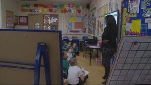 Rogerstone Primary School in Newport have seen significant improvement