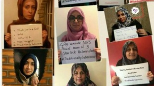 Muslim women's Twitter protest at Cameron's alleged 'traditionally submissive' comment