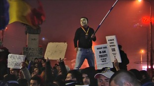 Protests broke out after the fire which eventually brought down the Romanian government.