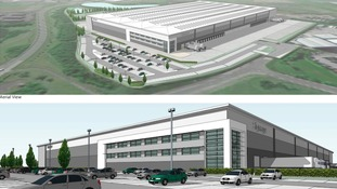American owned company submit plans for major distribution facility in Cannock