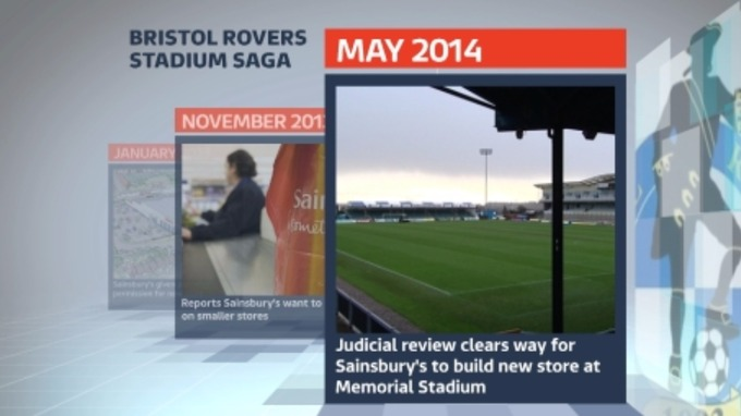 May 2014: a judicial review clears the way for Sainsbury's to build a new store on the Memorial Ground site.