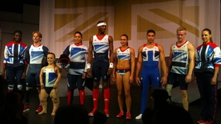 Olympians and Paralympians in new kit