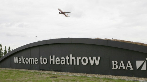 Heathrow Airport.