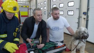 The fire service will have special kits to use on animals