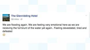 The Glenridding Hotel's Facebook post.