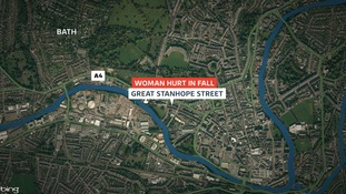 The woman was injured in Great Stanhope Street