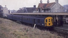 Last train at Swanage in 1972