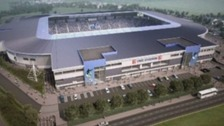 The plans for a new stadium for Bristol Rovers in Stoke Gifford
