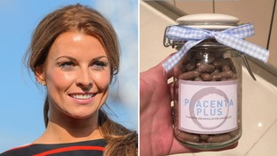 Coleen Rooney reveals she is eating her placenta after giving birth to son Kit