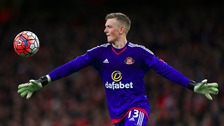 Sunderland goalkeeper Jordan Pickford during the Emirates FA Cup