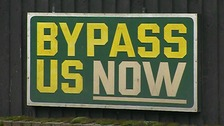 Bypasses are needed for the villages Marlesford, Little Glemham, Stratford St Andrew and Farnham.