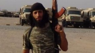 Image believed to be of Mohammed Emwazi, otherwise known as Jihadi John, before his death in Syria