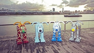 Gromit statues to go on display in Bristol to raise money for city's Children's Hospital