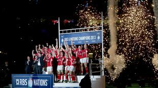 Wales celebrate championship