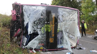 Dangerous driver jailed for crash which left 82 bus passengers injured