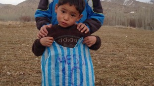 Lionel Messi carrier bag kid found in Afghanistan after lengthy search