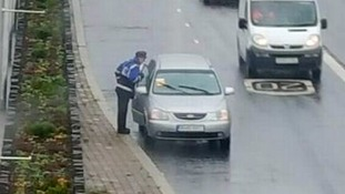 Unlucky motorist gets parking ticket after breaking down and going for help