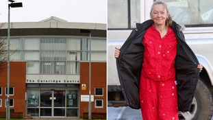 Mother wears pyjamas for school run in defiance of headteacher's nightwear 'ban'