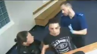 "Watch: Man claims police ""brutally assaulted"" him while in custody"