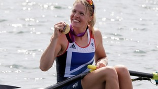 Homecoming parade in Leek for Olympic gold medallist
