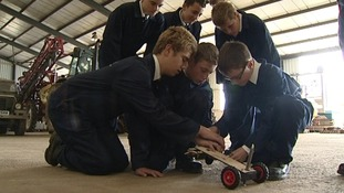 Fourteen-year-old engineers swap school for university