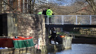 Specialist officers were called to Portland Basin
