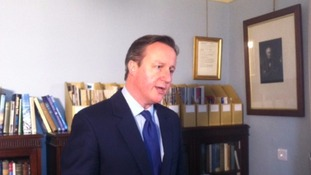 Prime Minister David Cameron defends £3m flood funds package