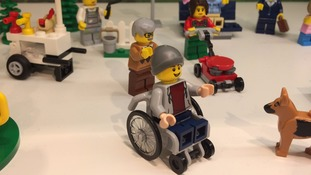 Victory for campaigner as Lego create first disabled character