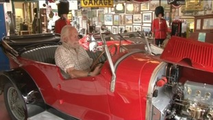 Classic car enthusiast's collection to go under the hammer