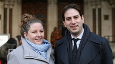 The couple lost a landmark legal challenge at the High Court