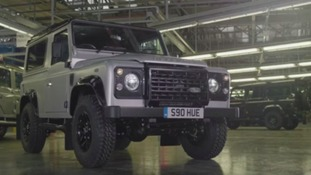 Final Land Rover Defender to roll off production line