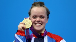 Ellie Simmonds has won three medals at the London Paralympics, including two golds.
